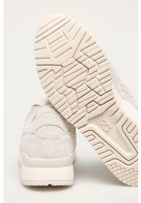 Asics - Buty zamszowe Gel-Lyte III OG. Nosek buta: okrągły. Zapięcie: sznurówki. Kolor: szary. Materiał: zamsz. Model: Asics Gel Lyte