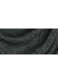 TOP SECRET - Bluzka z biżuteryjną ozdobą. Kolor: czarny. Materiał: materiał. Długość rękawa: długi rękaw. Długość: długie. Wzór: aplikacja. Sezon: zima, jesień. Styl: klasyczny, elegancki