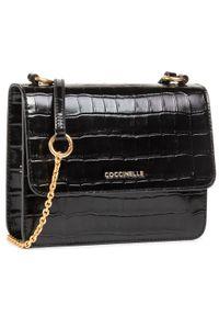 Czarna torebka Coccinelle elegancka