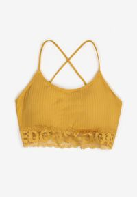 Żółty biustonosz Born2be