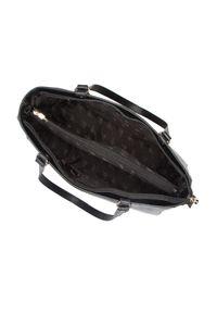 Wittchen - Shopperka ze skóry lizard prostokątna. Kolor: czarny. Wzór: haft. Dodatki: z haftem, z breloczkiem. Materiał: skórzane. Styl: klasyczny, elegancki, casual. Rodzaj torebki: na ramię