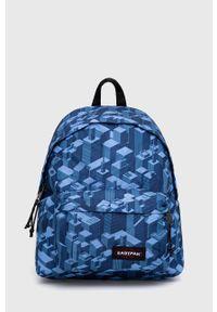 Eastpak - Plecak. Kolor: niebieski. Materiał: poliester