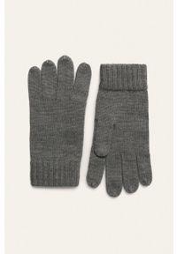 Polo Ralph Lauren - Rękawiczki. Kolor: szary