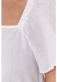 MAX&Co. - Koszula. Okazja: na co dzień. Kolor: biały. Długość rękawa: krótki rękaw. Długość: krótkie. Styl: casual