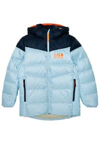 Helly Hansen Kurtka puchowa Jr Isf Jord 41612 Kolorowy Regular Fit. Materiał: puch. Wzór: kolorowy