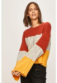 Wielokolorowy sweter Noisy may z okrągłym kołnierzem #6