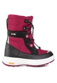 Reima - Śniegowce REIMA - Laplander 569351F 3690. Kolor: różowy. Materiał: skóra, skóra ekologiczna, materiał. Szerokość cholewki: normalna #3
