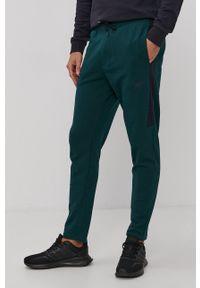4f - 4F - Spodnie. Okazja: na co dzień. Kolor: zielony. Styl: casual