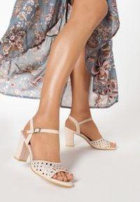Born2be - Różowe Sandały Petomeni. Kolor: różowy