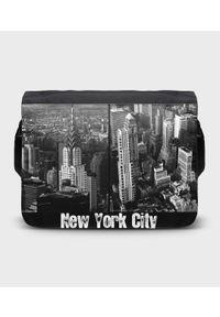 MegaKoszulki - Torba na ramię duża New York City 2. Wzór: paski, nadruk