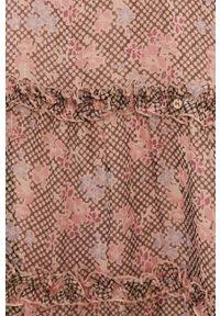 Nissa - NISSA - Sukienka. Materiał: tkanina, materiał. Długość rękawa: krótki rękaw. Typ sukienki: rozkloszowane