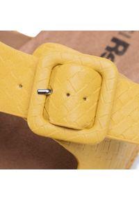 Refresh - Espadryle REFRESH - 69643 Amarillo. Okazja: na co dzień. Kolor: żółty. Materiał: skóra. Sezon: lato. Styl: casual