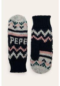 Wielokolorowe rękawiczki Pepe Jeans