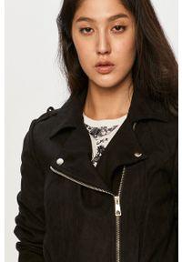 Jacqueline de Yong - Ramoneska. Okazja: na co dzień. Kolor: czarny. Styl: casual