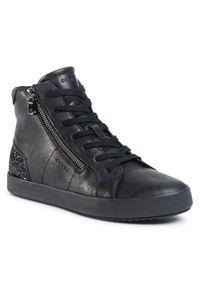 Geox Sneakersy D Blomiee B D026HB-0PVEW C9999 Czarny. Kolor: czarny