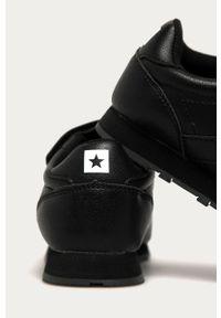 Czarne buty sportowe Big-Star na rzepy, z cholewką