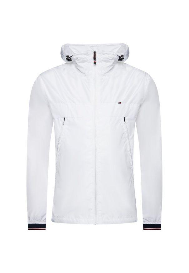 Biała kurtka TOMMY HILFIGER