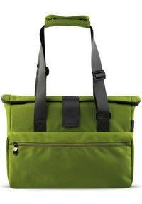 Zielona torba na laptopa NoName