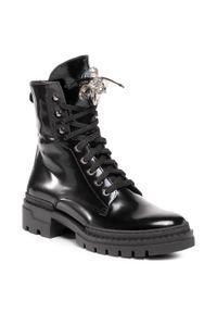 Czarne buty trekkingowe Nessi