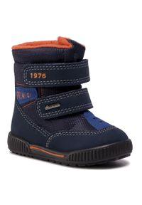 Niebieskie buty zimowe Primigi na spacer