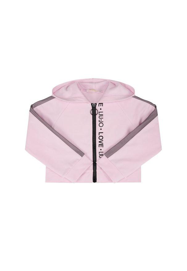 Różowa bluza Liu Jo Kids