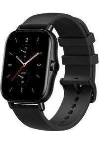 AMAZFIT - Smartwatch Amazfit GTS 2 Czarny (AMF-6972596102311R). Rodzaj zegarka: smartwatch. Kolor: czarny