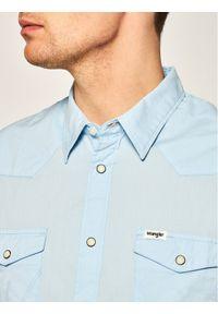 Niebieska koszula casual Wrangler