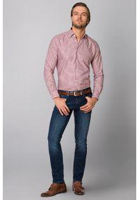 Niebieskie jeansy Lancerto vintage, z haftami