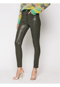 Zielone jeansy slim Guess