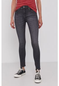 Pepe Jeans - Jeansy Zoe. Kolor: szary