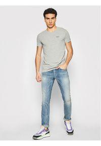 Pepe Jeans T-Shirt Original Basic 3 PM506153 Szary Slim Fit. Kolor: szary