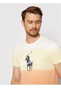 Polo Ralph Lauren T-Shirt 710835739001 Kolorowy Custom Slim Fit. Typ kołnierza: polo. Wzór: kolorowy