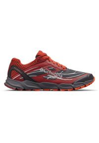 Czerwone buty do biegania columbia