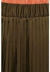 Zielona spódnica Vila na co dzień, casualowa