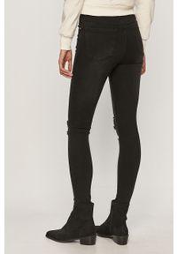 Czarne jeansy Brave Soul z podwyższonym stanem