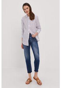 Biała koszula Polo Ralph Lauren długa, casualowa, polo, na co dzień