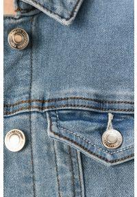 Niebieska kurtka Vero Moda bez kaptura, casualowa