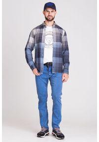 JOOP! Jeans - KOSZULA JOOP! JEANS W KRATĘ. Typ kołnierza: kołnierzyk klasyczny. Materiał: materiał, bawełna