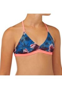 OLAIAN - Góra kostiumu kąpielowego BETTY 500 HANDA dla dzieci. Kolor: niebieski. Materiał: poliester, elastan, materiał