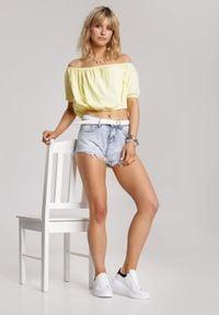 Renee - Żółta Bluzka Amalisis. Kolor: żółty