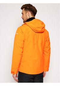 Pomarańczowa kurtka sportowa Salewa narciarska