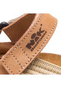 Beżowe sandały Nik casualowe, na co dzień #7
