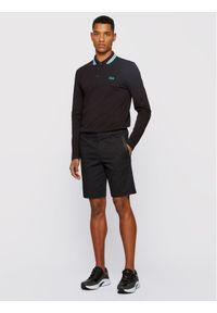 BOSS - Boss Polo Plisy 50272945 Czarny Regular Fit. Typ kołnierza: polo. Kolor: czarny