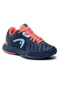Niebieskie buty do tenisa Head
