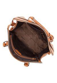 Wittchen - Torebka damska. Kolor: brązowy. Dodatki: z frędzlami. Materiał: skórzane. Styl: elegancki. Rodzaj torebki: na ramię #3