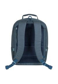 Szary plecak na laptopa RIVACASE elegancki