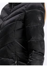 Czarna kurtka puchowa EA7 Emporio Armani