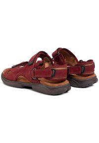 Czerwone sandały Lasocki For Men na lato, klasyczne