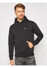 Tommy Jeans Bluza Regular Fleece DM0DM09593 Czarny Regular Fit. Kolor: czarny