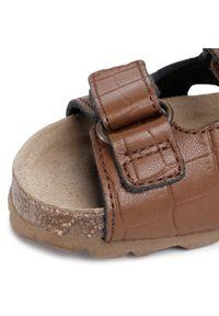 Brązowe sandały Sergio Bardi Young na lato, klasyczne